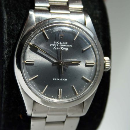 1968 Rolex air King Grey Dial