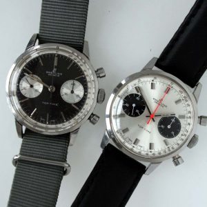Rare Breitling Top Time Panda Dial Chronograph
