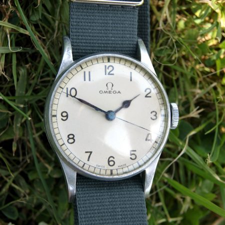 1943 Rare Air Ministry Issued RAF Omega Pilot's Watch