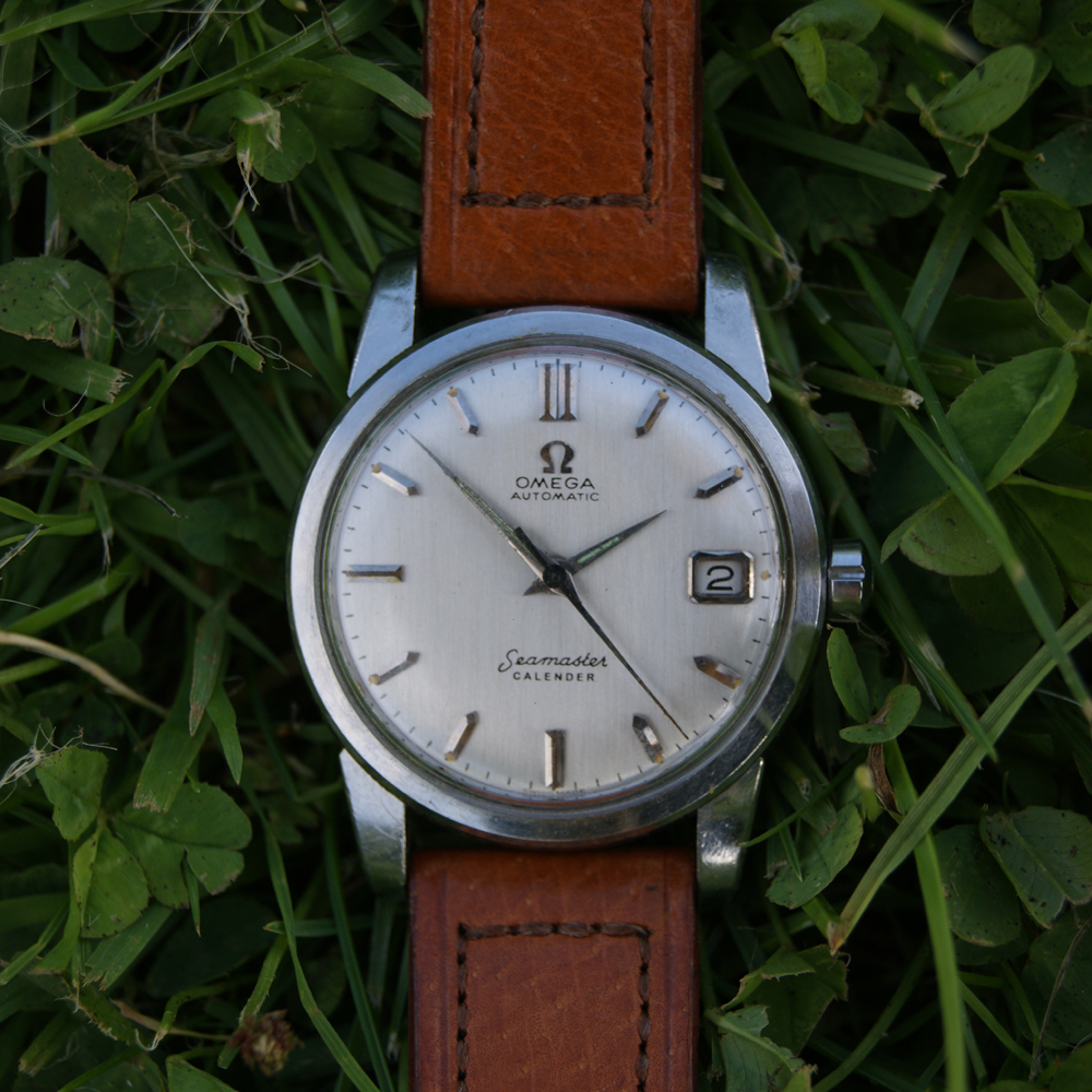 1959 Automatic Seamaster Calendar With Date At 3 Silvered Dial