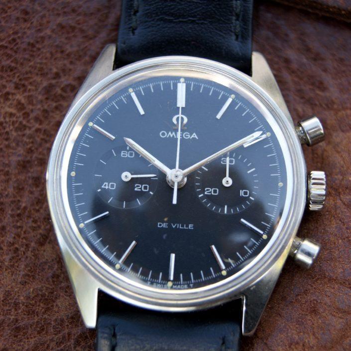 1969-Rare-Omega-De-Ville-Chronograph-Cal.860-with-Original-All-Black-Dial