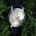 1945 Omega Jumbo Oversized All Stainless Steel Bumper Automatic