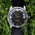Original Cross-Hairs Black and Gilt Honeycomb Dial