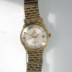 1960's Omega Constellation Cross-Hairs Pie-Pan in Gold and Steel (10)