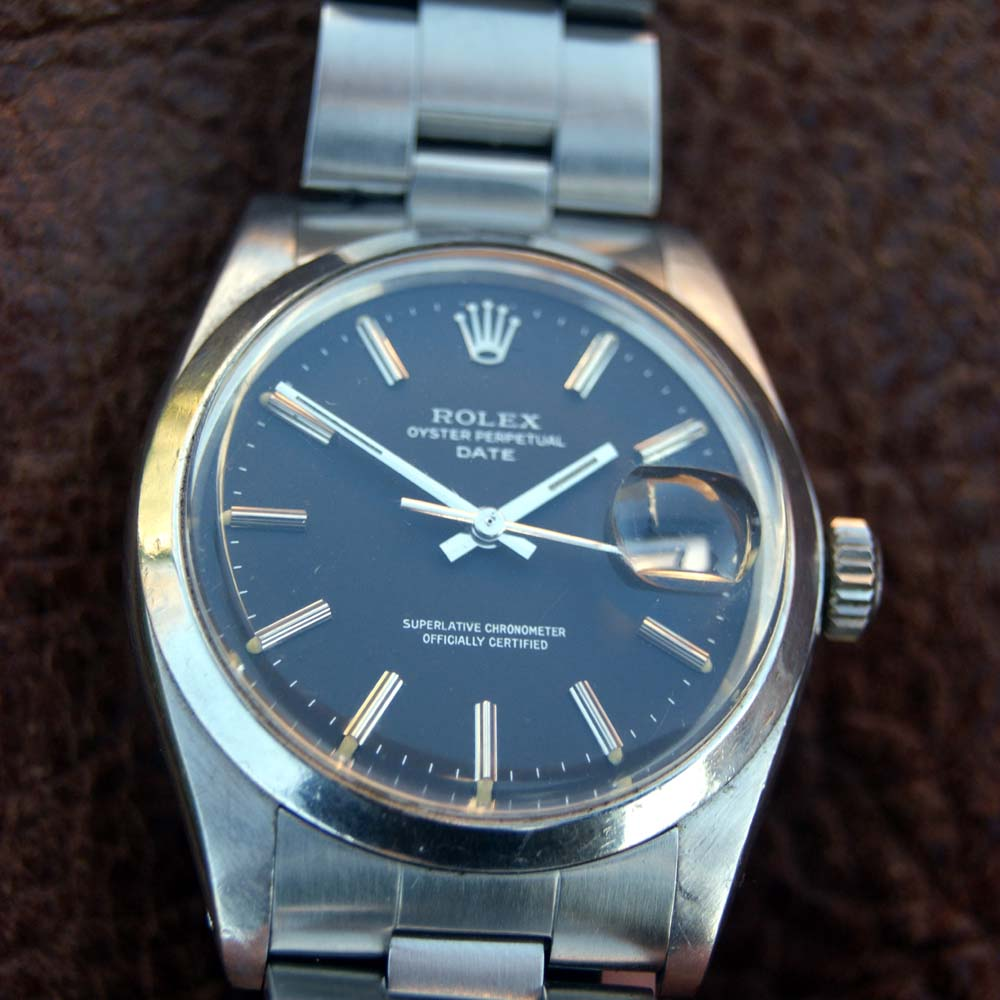 1975 Rolex Oyster Perpetual Date Chronometer Reference ...