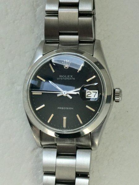 1974 Rolex Oysterdate 6694 with Original Black Dial
