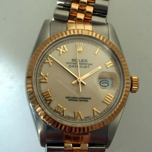 1988 Rolex Datejust with Rare Ivory Roman Dial