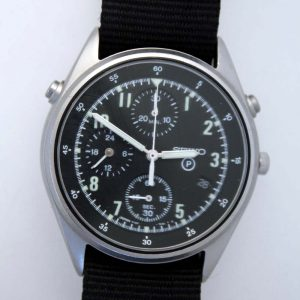 1993 Seiko Gen 2 RAF Military Pilot's Chronograph