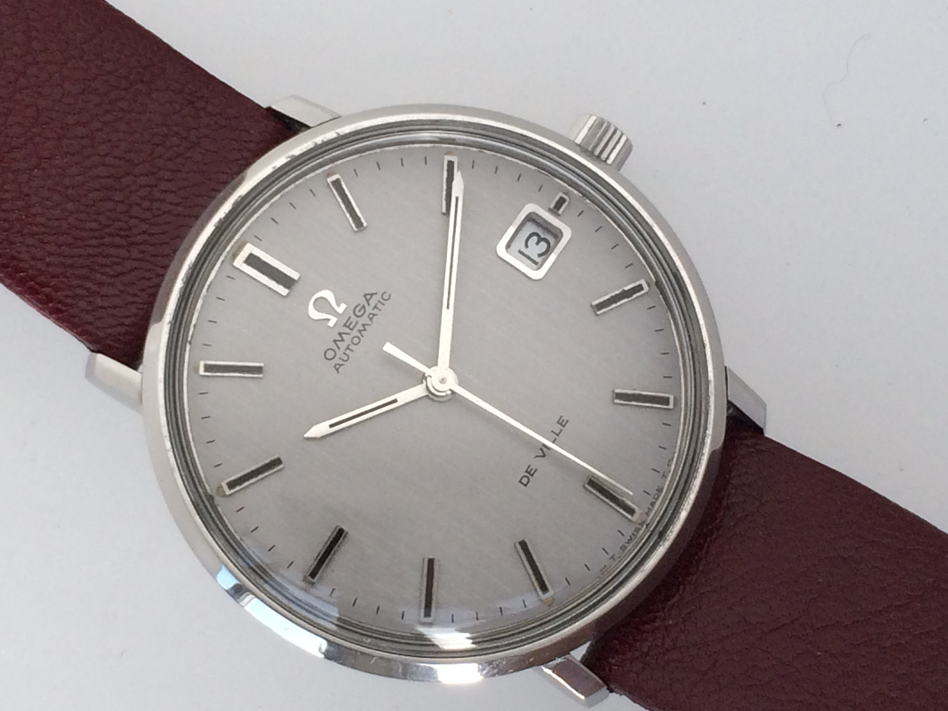 New Old Stock Unused 1960 S Omega De Ville With Rare