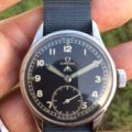 1944 D-Day WWW Omega WW2 British Army Officer's Watch