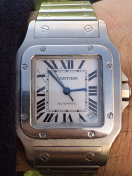 Cartier Santos Galbee XL Automatic All Stainless Steel