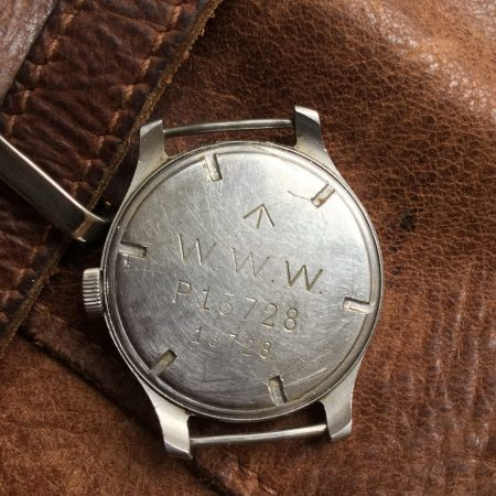 WW2 Cyma WWW Dirty Dozen British Military Wristwatch