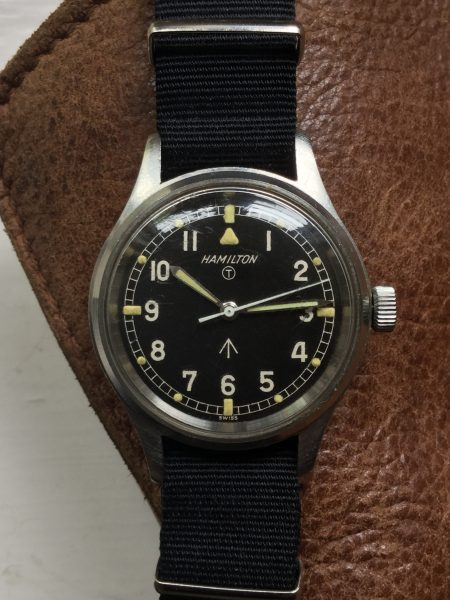 "1967 Hamilton 6B H-67 ""Mark XI"" RAF Hacking Military Pilot's Watch"