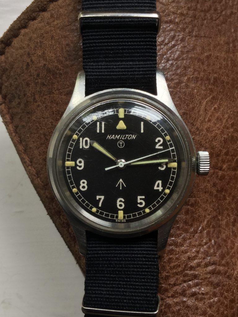 "1967 Hamilton 6B H-67 ""Mark XI"" RAF Hacking Military Pilot's Watch"