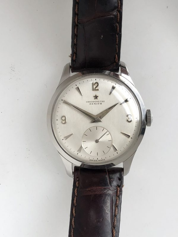 Zenith Chronometre Cal. 135 in All Stainless Steel Case