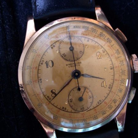 18K Rose Gold Pilot's Chronograph WW2 Era
