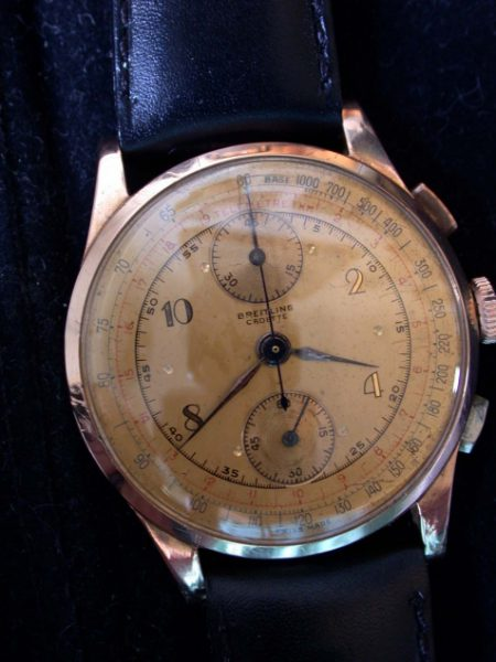 18K Rose Gold Pilot's Chronograph WW2 Era