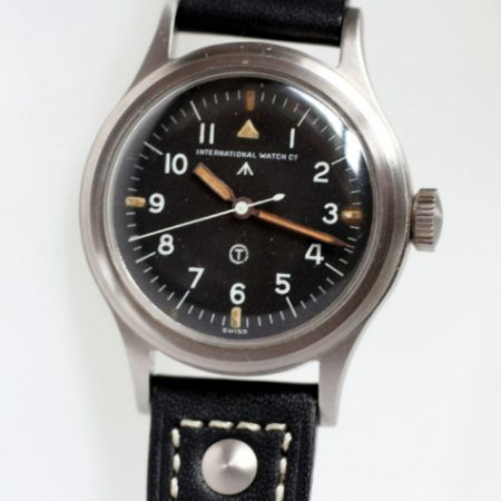 1951 RAF Mark XI 6B/342 Pilots Watch in Perfect Condition with Original British MOD Military Dial and Broadarrow Military Issue Markings on the Case-Back Military Crown and Fixed Bar Lugs