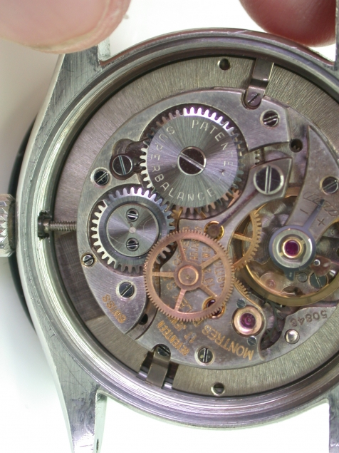 1954 Early Red Date Oysterdate Precision On Original Rare
