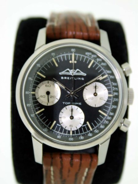1960s Rare Top Time with Three Register Rare AOPA Logo Original Dial