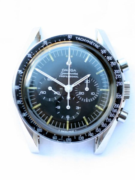 "1966 Speedmaster Professional ""Pre-Moon"" Cal. 321 Chronograph Ref. 105.012-66 in Collectible Steel CB Made Case with Original ""Dot Over 90"" Bezel on Original Bracelet"