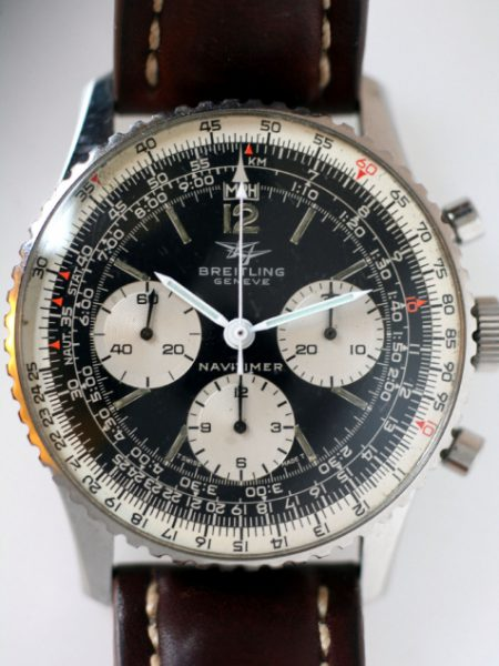 1967 Navitimer Last of the Ref. 806 Models (Generation V) with Large White Sub-Dials and Breitling Venus Cal. 178 Movement in Stainless Steel Case