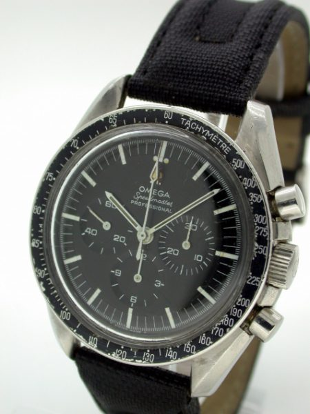 1967 Pre-Moon Speedmaster Cal. 321 with Seamonster Caseback. Original Stepped Applied Logo Dial in Mint Condition