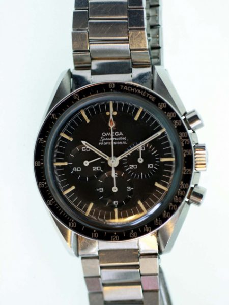 """1967 Speedmaster Professional """"Pre-Moon"""" Cal. 321 Chronograph Ref. 145.012-67 with Original Ref. 1039 /516 Bracelet Dated Jan. 1968 All Original One Owner From New"""