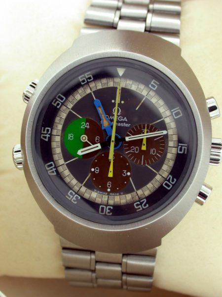 1969 1st Generation Flightmaster Rare Ref. ST145.013 Cal. 910 Exceptional Example with Two Year Omega Service Guarantee. Immense Watch in Perfect Condition