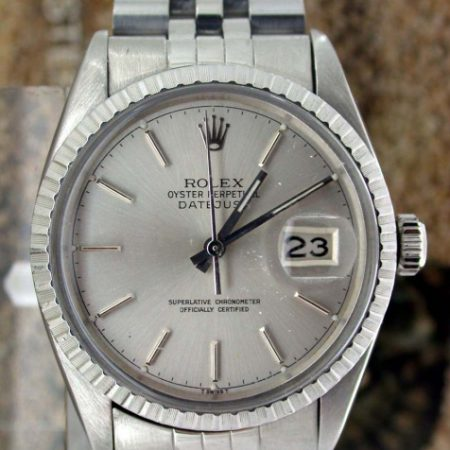 1979 Datejust Oyster Perpetual Chronometer Ref. 16030. Comes with its Original Rolex Papers