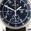 1996 British Military Issued RAF Helicopter/Jet Pilots Gen. 2 Chronograph Model with Broadarrow and Military Issue Numbers on Case-Back Comes with New Seiko Mineral Glass