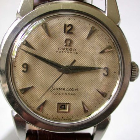 Automatic Seamaster Calendar with Rare Date Window at 6 O'Clock