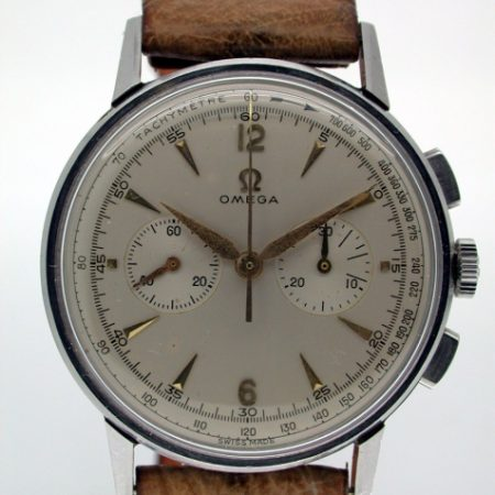 Beautiful Caliber 320 (Lemania CH27) Chronograph Rare Mint Condition Classic c.1959