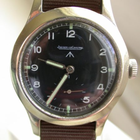 JLC MOD Dial British Military Issue