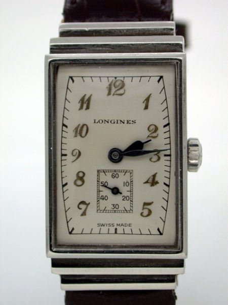 "Very Rare ""Egyptian"" cased Art Deco wristwatch"