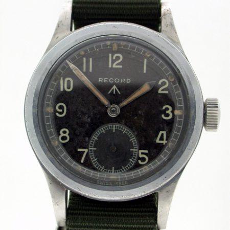 WW2 British Military Issue WWW Broadarrow Wristwatch