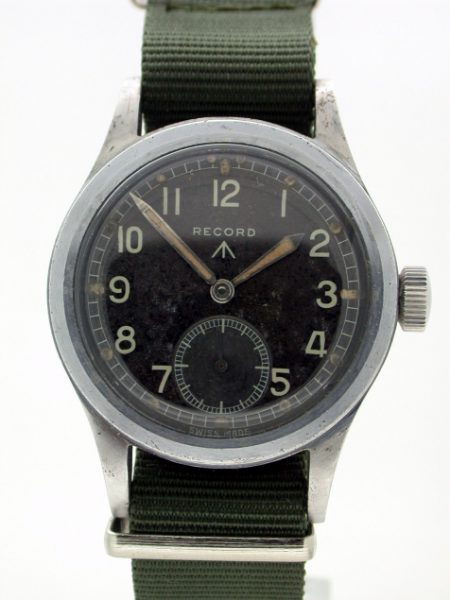 WW2 British Military Issue WWW Broadarrow Wristwatch